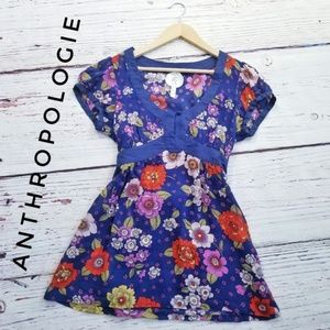 Anthropologie Edme & Esyllte Floral Blouse